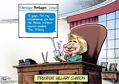 jpg Hillary's Lingering Email Problem