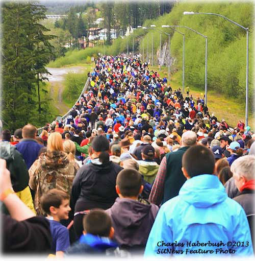 jpg Ketchikan became the new world record holder in 2013  of World's Largest Rainboot Race