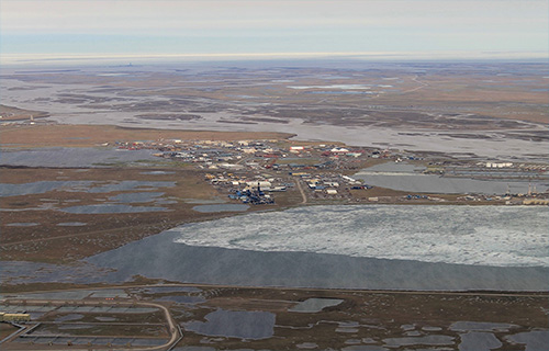 jpg Aerial view of Prudhoe Bay