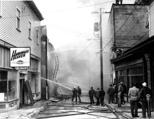 Bill Mitchell's last blaze was 60 years ago; Firefighter responsible for at least 5 local arsons in 50s and 60s