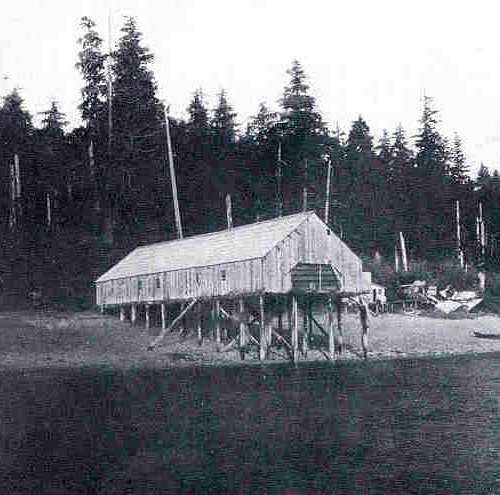 jpg Baronovich Salmon Saltery -- The Oldest Saltery in Alaska