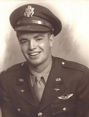 "jpg 1st Lt Richard ""Dick"" G. Brinck Airplane Commander"