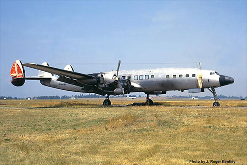 jpg 1968 when N8083H was stored at Seattle and used for spares by Alaska Airlines