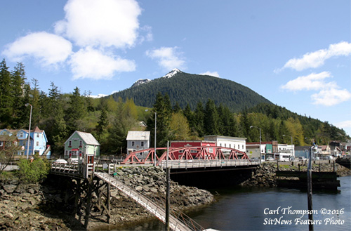 jpg Deer Mountain as viewed from Ketchikan's Thomas Basin.