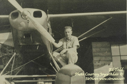jpg 40 years after his death, Ed Todd remains fresh in the mind of the minds of those that flew with him