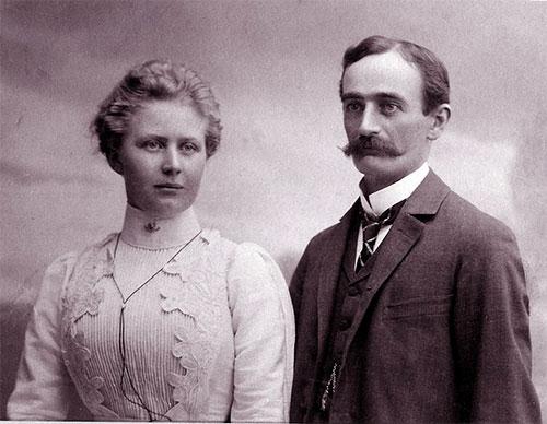 jpg Elizabeth Christ & Frederick Trump, 1918