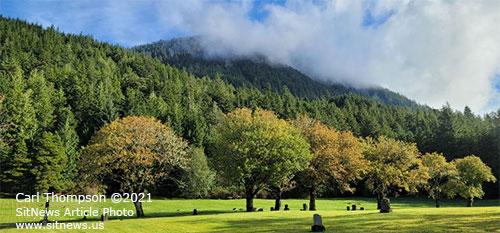 JPG A glimpse of Bayview Cemetery - Ketchikan, Alaska
