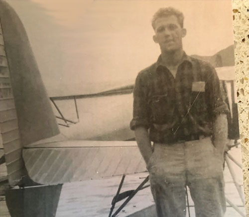 jpg Ketchikan pilot found millionaire's plane crash in Boca de Quadra in early 1950s