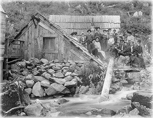 Hunt Photos Show Ketchikan in Pioneer Days