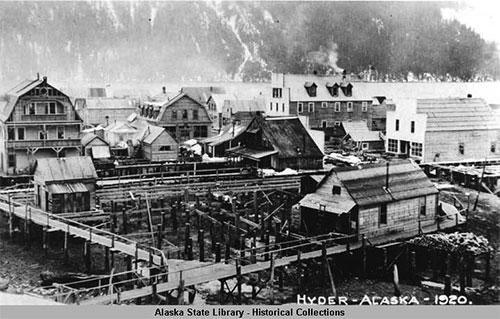 jpg Hyder, Alaska 1920