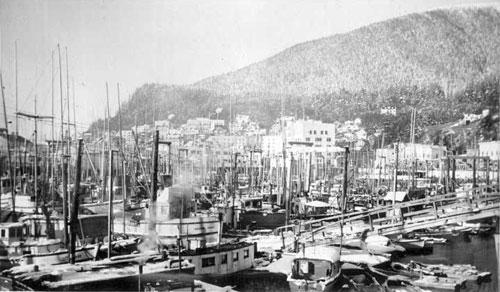 jpg Thomas Boat Basin Ketchikan: 1949-1951