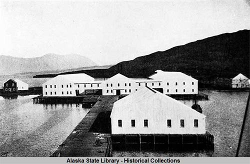 jpg Karluk Cannery, Kodiak Island, Alaska, circa 1906