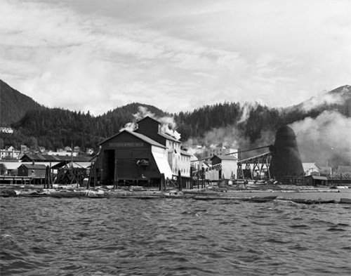jpg Ketchikan Spruce Mill, June 1959