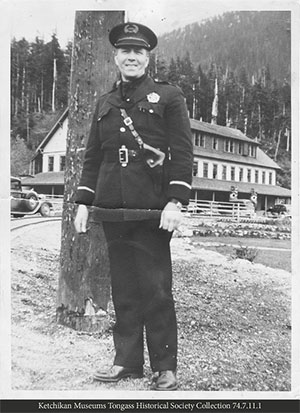 jpg Ketchikan Police Chief Samuel Shirley Daniels, better known as S.S. Daniels