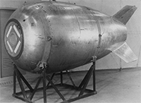 Canadians search for lost 'nuke' near Prince Rupert; Two ton 'dummy' bomb was dropped in 1950