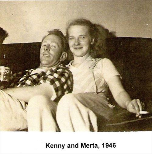 jpg Kenny and Merta Kiffer 1946