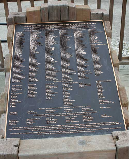 jpg Memorial plaque in Dawson City