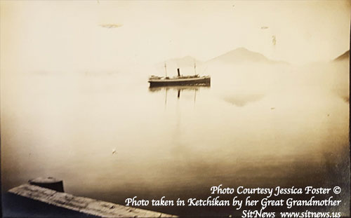 jpg Princess Sophia in Ketchikan. Tongass Narrows 