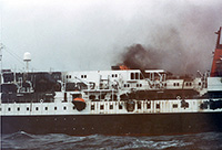 A Cruise Ship Goes Down; Sinking of the Prinsendam in 1980 led to One of history's greatest maritime rescues