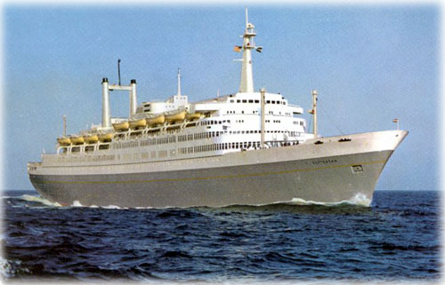 A Tale of Two Cruise Ships: A Feature Story by Dave Kiffer