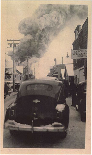 jpg In 1947, a fire destroyed the grocery store at 415 Stedman