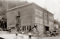 White Cliff Reopens; Building was West End School for nearly 80 years