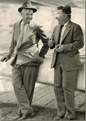 jpg Humorist Will Rogers, left, and famed aviator Wiley Post,