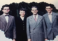 Back when doctors made house calls! Members of the Wilson family served Ketchikan for more than 60 years