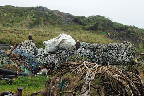 jpg Plastic fishing nets from Dutch Harbor go to Denmark for recycling