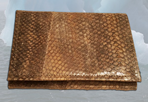 jpg Salmon leather is made from sustainable Alaskan salmon skins