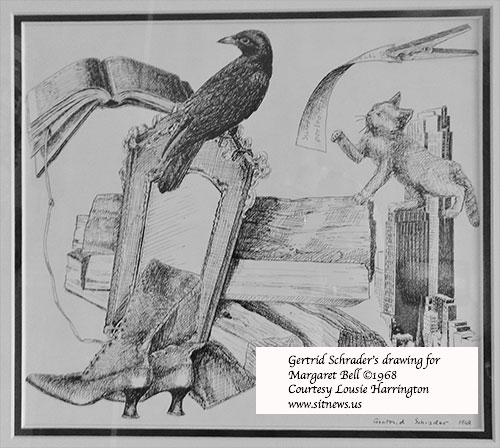jpg Gertrud Schrader's drawing for Margaret Bell 1968