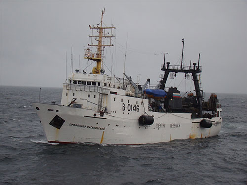 jpg The Russian research vessel Professor Kaganovsky