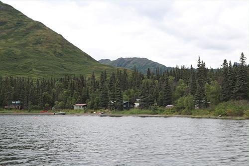 jpg The Alaska Salmon Program camp at Lake Nerka