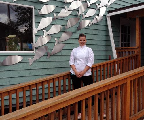 jpg Hoonah's Top Chef; Southeast Woman Brings Haute Cuisine to Tlingit Village