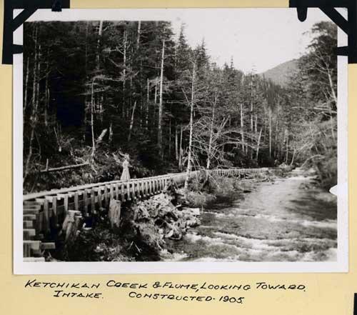 jpg Ketchikan Creek Intake & Flume 0 1905