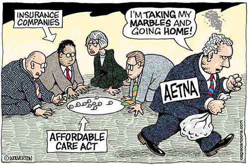 jpg Aetna Pulls Back from Obamacare