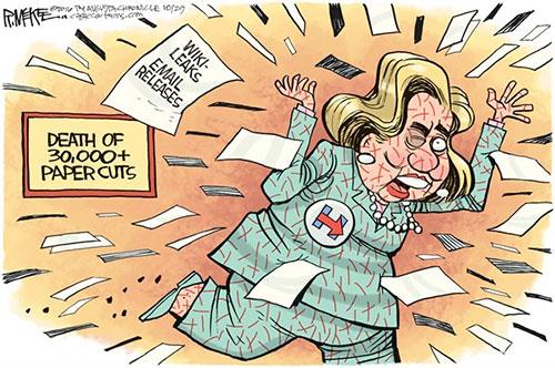 jgp Corruption is the Cornerstone of the Clinton Campaign