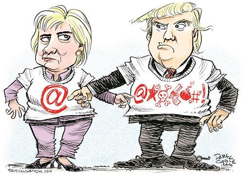jpg Bizarre Similarities Between Trump and Clinton