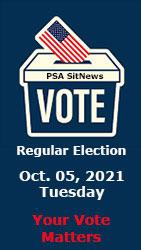 Vote Oct. 05, 2021 - Ketchikan Borough & City Regular Election - Ketchikan, Alaska